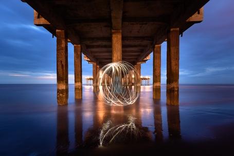 Lightball at the Pier