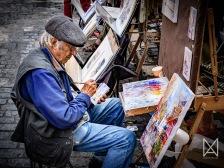 Montmartre artist